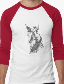 WolfInBlack Men's Baseball ¾ T-Shirt