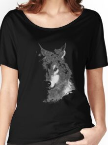 WolfInBlack Women's Relaxed Fit T-Shirt