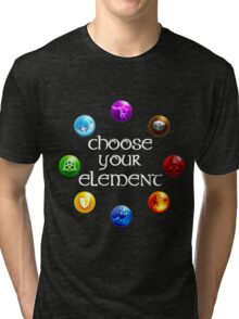 Magicka, choose your element (circle) Tri-blend T-Shirt