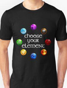 Magicka, choose your element (circle) T-Shirt