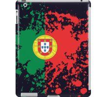 Portugal Flag Ink Splatter iPad Case/Skin