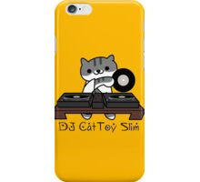 DJ CatToy Slim (Neko Atsume) iPhone Case/Skin