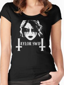 Taylor Swift Death Metal Women's Fitted Scoop T-Shirt