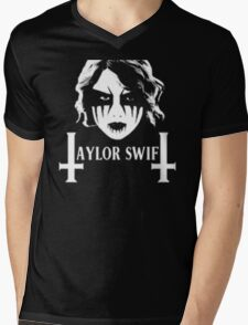 Taylor Swift Death Metal Mens V-Neck T-Shirt