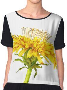 Flower dandelion large Chiffon Top