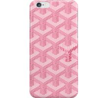 Goyard Pink iPhone Case/Skin