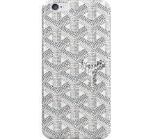 Goyard White iPhone Case/Skin
