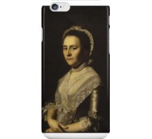 Mrs. Alexander Cumming, née Elizabeth Goldthwaite, later Mrs. John Bacon John Singleton Copley iPhone Case/Skin