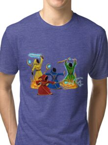 Magicka, team of wizards Tri-blend T-Shirt