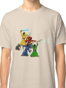 Magicka, team of wizards with small enemy Classic T-Shirt