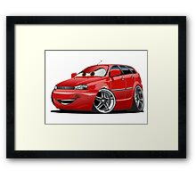 Cartoon Car Framed Print