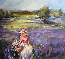Lavender field by Ivana Pinaffo