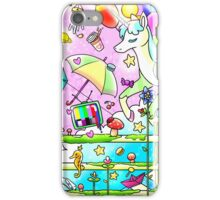 Music and imagination is all I need iPhone Case/Skin