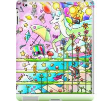 Music and imagination is all I need iPad Case/Skin