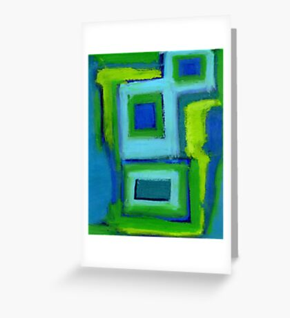 Pastel Painting 9 Greeting Card