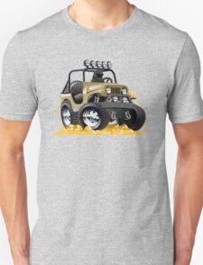 Cartoon Jeep Unisex T-Shirt