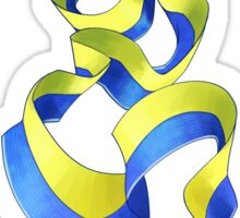 blue ribbon eel Sticker