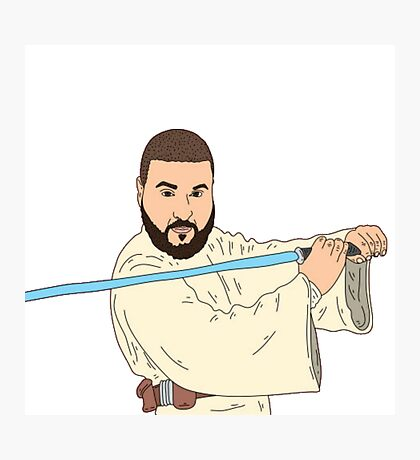 Jedi Khaled Photographic Print