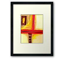 Pastel Painting 10 Framed Print