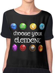 Magicka, choose your element (4x2) Chiffon Top