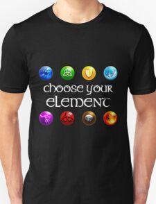 Magicka, choose your element (4x2) T-Shirt