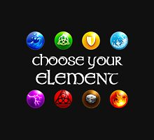 Magicka, choose your element (4x2) Unisex T-Shirt