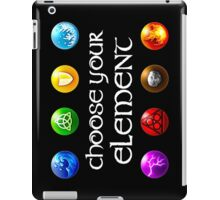 Magicka, choose your element (4x2) iPad Case/Skin