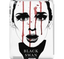 Black Swan Illustration iPad Case/Skin