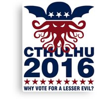 Cthulhu For 2016 Canvas Print