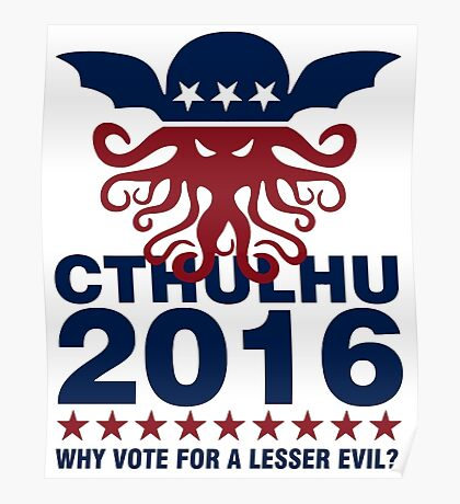 Cthulhu For 2016 Poster
