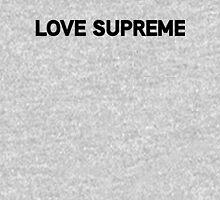 Love Supreme | Black Ink Unisex T-Shirt