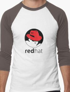 redhat linux Men's Baseball ¾ T-Shirt