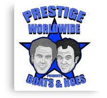 Prestige worldwide presents boats & hoes Canvas Print