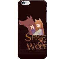 Spice and Wolf 1 iPhone Case/Skin