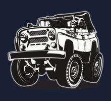 Cartoon jeep One Piece - Long Sleeve