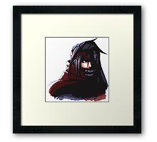 Final Fantasy VII - Vincent Valentine Portrait Framed Print