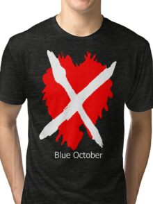 Blue October the Home Tour 2016 2 Tri-blend T-Shirt