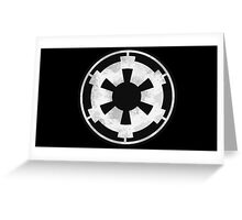 Galactic Empire Emblem Greeting Card