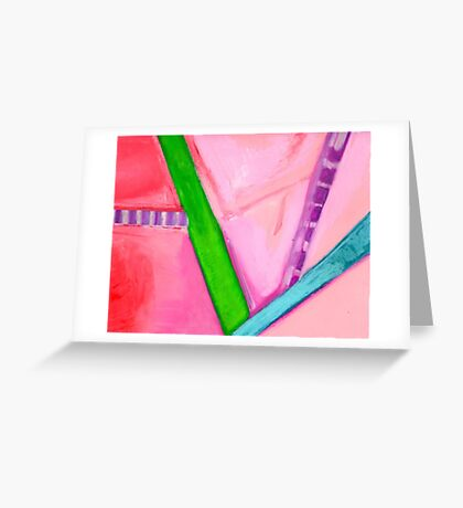 Pastel Painting 18 Greeting Card