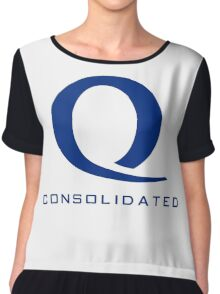 Queen Consolidated Chiffon Top