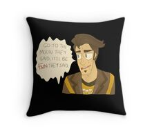 jack the doppelganger - borderlands the pre sequel Throw Pillow