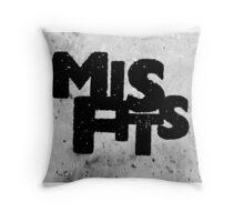 Misfits tv show Throw Pillow