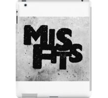 Misfits tv show iPad Case/Skin