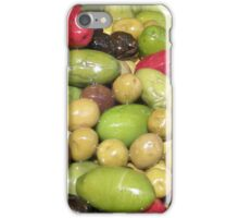 colors of the olives iPhone Case/Skin