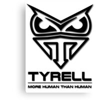 Blade Runner - Tyrell Corporation Logo Canvas Print