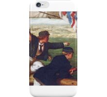 Philip Richard Morris - Two Young Midshipmen in Sight of Home,  iPhone Case/Skin