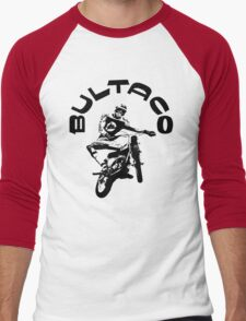 BULTACO Men's Baseball ¾ T-Shirt