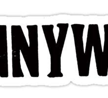 Pennywise Logo Sticker
