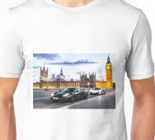 McLaren MP4-12C at London Big Ben  Unisex T-Shirt