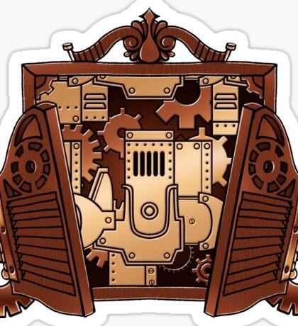 Clockwork Inside Sticker